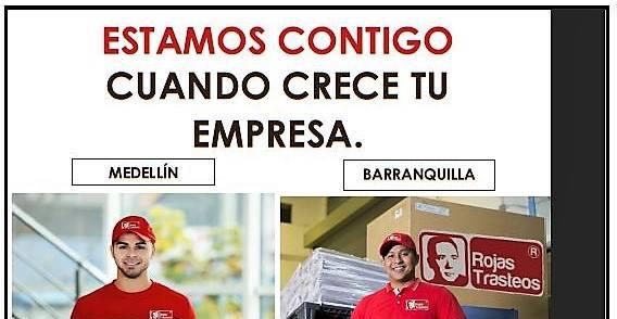 Rojas Trasteos Creciendo Con La Industria Colombiana